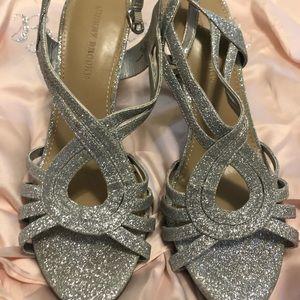 Aubrey Brooks Silver Heels